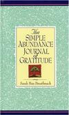 Simple Abundance Journal of Gratitude